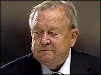 Uefa president Lennart Johansson