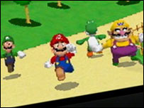 Screengrab of Mario Kart on the DS, Nintendo