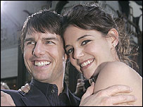 Tom Cruise engaged to Katie Holmes