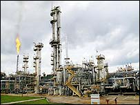 Brazilian oil rig