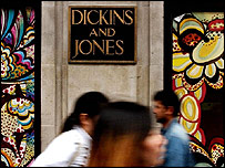 Dickins & Jones store