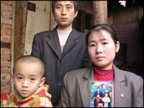 Other families in Kunming who have lost young children.