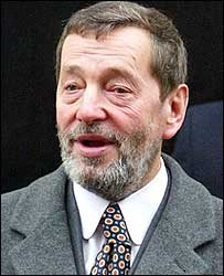David Blunkett on Thursday, the day after he resigned as home secretary