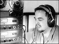Alan Lomax at work. (Alan Lomax Archive)