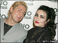 Budgie and Siouxsie Sioux