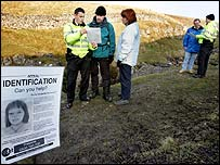 North Yorkshire Police question ramblers