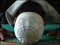Musulm�n rezando.
