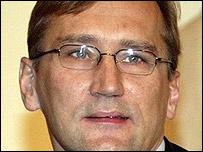 Estonian Prime Minister Juhan Parts
