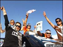 Rafsanjani supporters