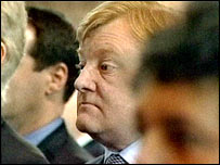 Liberal Democrat leader Charles Kennedy at the memorial service