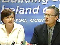Sinn Fein's Catriona Ruane and Gerry Kelly were shocked at the verdict