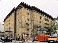 The old air raid shelter on Albrechtstrasse (Pic: Ullsteinbild)