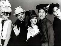 The B52s in 1983 [photo courtesy of the B52s]