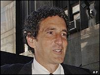 Former finance chief Mark Swartz