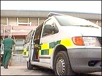 Ambulance at Millennium Stadium