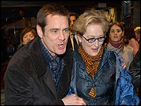 Jim Carrey and Meryl Streep
