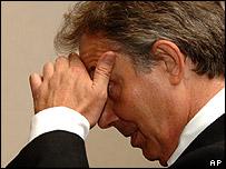 British PM Tony Blair