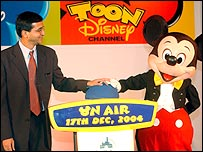 Disney India launch