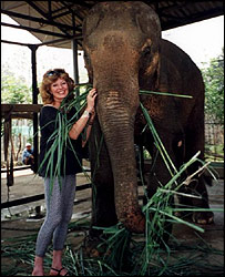 Rula Lenska in Thailand