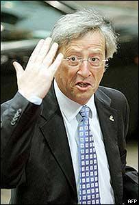 Luxembourg's Prime Minister Jean-Claude Juncker