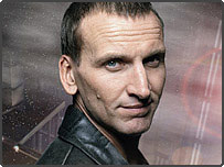 Christopher Eccleston played Doctor Who in the current series