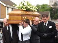 Mr O'Connor was buried two years after he went missing