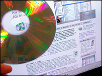 CD and downloading website