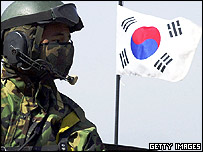 South Korean soldier (file photo)