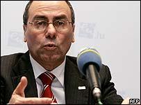 Israeli Foreign Minister Silvan Shalom