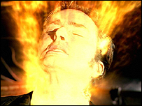 Doctor Who regenerates