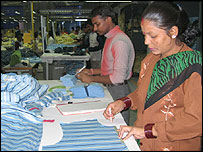 Delhi clothing factory