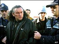 Police re-arrest Miron Cozma