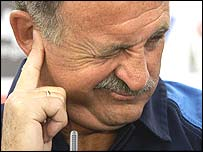 Portuguese boss Luiz Felipe Scolari