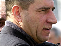 El general Ante Gotovina está acusado de crímenes de guerra.