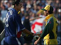 Ricky Ponting and Kevin Pietersen
