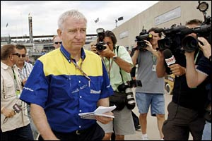 Michelin director of F1 operations Nick Shorrock