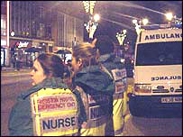 nurses on duty in Swansea