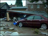 Flood damage