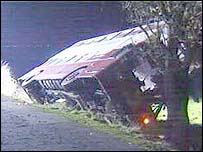 the bus which crashed