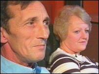 Brian Pretty and Carol Harris