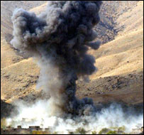 US air attack in Afghanistan