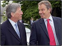 Tony Blair and Jean Claude Juncker
