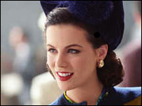 Kate Beckinsale as Ava Gardner in The Aviator