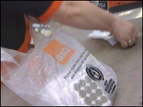 B&Q plastic bag 