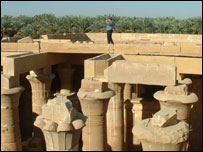 Temple of Hibis (pic sent by Wales Trade International)