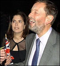 Kimberly Quinn and David Blunkett