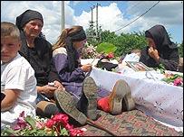 Funeral of nun Maricica Irina Cornici