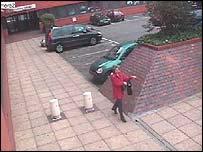 CCTV footage of June Thrussell