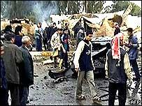 Karbala attack scene