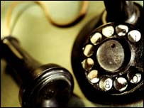 Old-fashioned rotary phone, Eyewire
